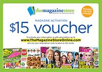 Magazine Fundraiser $15 Voucher