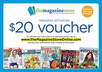 Magazine Fundraiser $20 Voucher