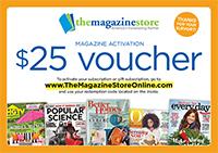 MAgazine Fundraiser $25 Voucher