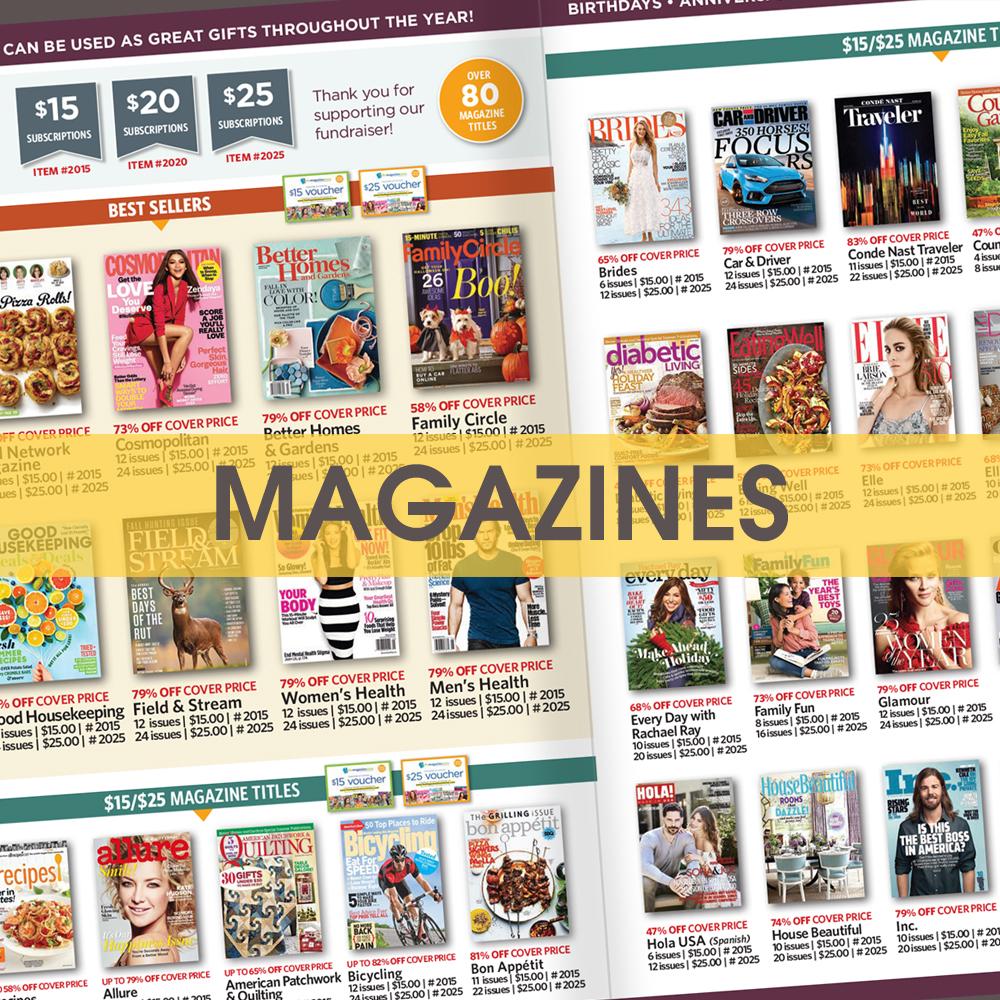 Tom Wat Fundraising Magazine Catalog