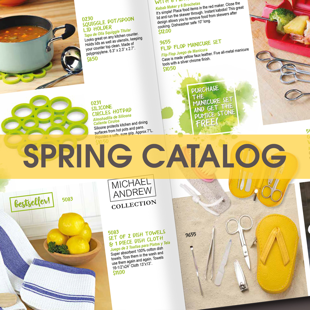 Tom Wat Fundraising Spring Catalog