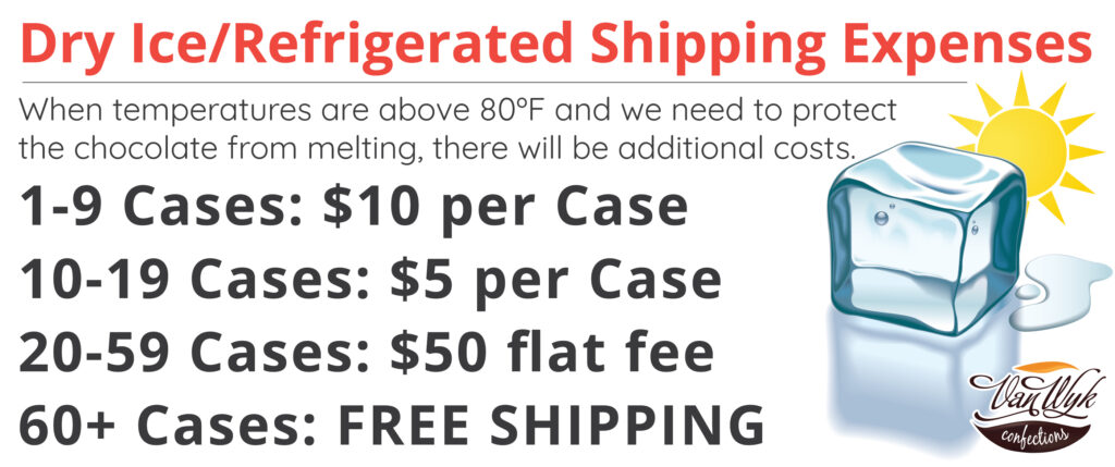 Dry Ice Shipping Carges