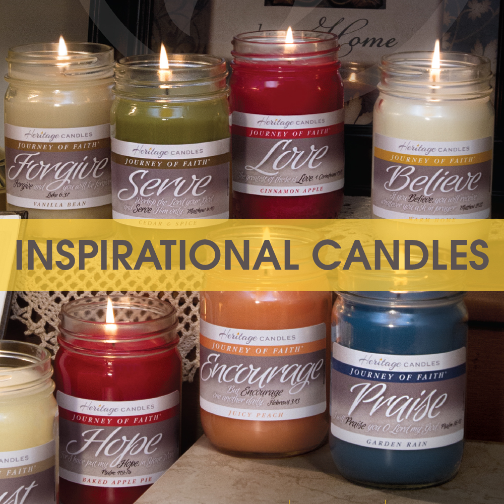 Tom Wat Inspirational Candles