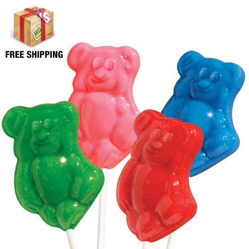 Yummy Bears Lollipops